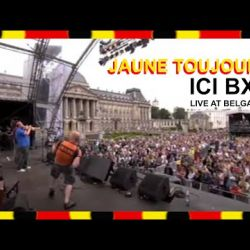 Jaune Toujours 'Ici Bxl' live at Belgavox Brussels
